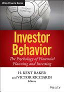 Investor Behavior Pdf/ePub eBook