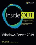 Windows Server 2019 Inside Out Pdf/ePub eBook