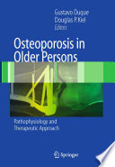 Osteoporosis in Older Persons Book