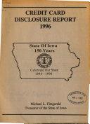 Credit Card Disclosure Report