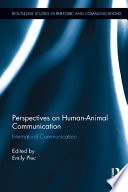 Perspectives on Human Animal Communication Book