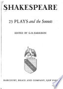 23 Plays and the Sonnets