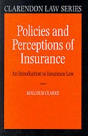Policies and Perceptions of Insurance