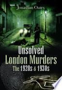 Unsolved London Murders Pdf/ePub eBook