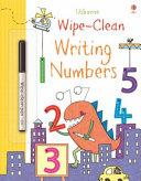 Wipe Clean Writing Numbers Book