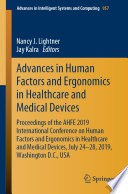 Advances In Human Factors And Ergonomics In Healthcare And Medical Devices Book PDF