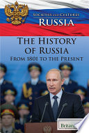 The History of Russia from 1801 to the Present Book