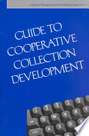 Guide To Cooperative Collection Development