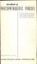 Handbook of Phytopathogenic Viruses Book