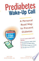 Prediabetes Wake-Up Call
