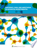 Sentience  Pain  and Anesthesia in Advanced Invertebrates Book