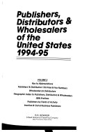 Publishers Distributors Wholesalers Of The United States