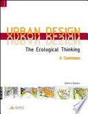 Urban design  The ecological thinking  A compendium  Ediz  inglese e tedesca Book