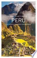 Lonely Planet Best of Peru Book PDF