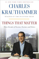 Things That Matter Book