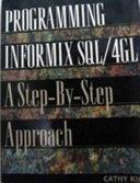 Programming Informix SQL 4GL Book
