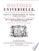Histoire universelle, sacree et profane, depuis le commencement du monde jusqu'a nos jours Pdf/ePub eBook