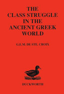 The Class Struggle in the Ancient Greek World