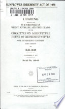 Sunflower Indemnity Act of 1988 Book PDF