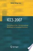 Iccs 2007 Book PDF