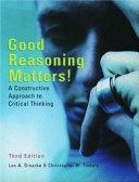 Good Reasoning Matters