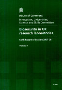 Biosecurity in UK Research Laboratories ebook