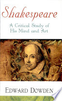 Shakespearea Critical Study Of His Mind And Art