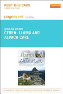 Llama and Alpaca Care Pageburst on Kno Access Code