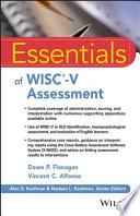 Essentials of WISC V Assessment