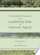 Achievement Motivation in the Leadership Role of Extension Agents