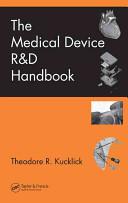 The Medical Device R D Handbook Book