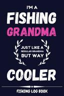 Fishing Log Book for Grandma - Pink Cover