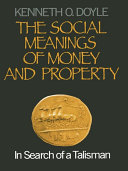 The Social Meanings of Money and Property Pdf/ePub eBook