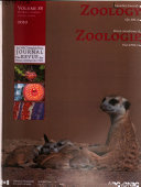 Canadian Journal of Zoology Book