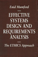 Effective Systems Design and Requirements Analysis