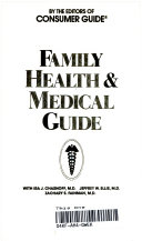 Family Health Medical Guide Book PDF