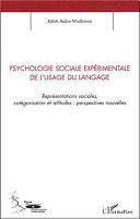 Pdf Psychologie sociale expérimentale de l'usage du langage Telecharger