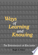 Ways Of Learning And Knowing Book PDF