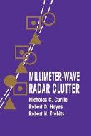 Millimeter wave Radar Clutter