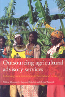 Outsourcing Agricultural Advisory Services Book