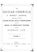 The Secular Chronicle