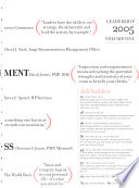 Leadership in Project Management Annual