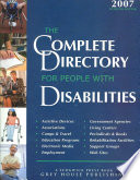 The Complete Directory for People with Disabilities