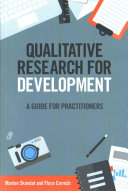 Qualitative Research for Development