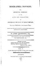 Biographia navalis