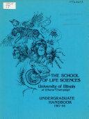 Undergraduate Handbook  1987 88