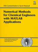 Numerical Methods For Chemical Engineers With Matlab Applications Book PDF