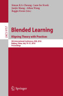 Blended Learning: Aligning Theory with Practices