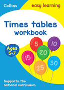 Collins Easy Learning Age 5-7 -- Times Tables Workbook Ages 5-7: New Edition