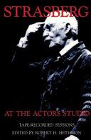 Strasberg at the Actors Studio